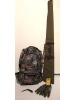 Winter Bundle  with Backpack, Gloves, Shotgun Cover & Knife