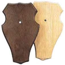 Shield for Roe Trophy, Oak, Dark