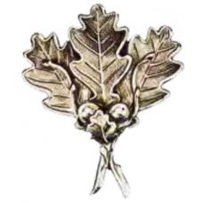 Wild Boar Cover Plate - Four Oak Leaves
